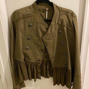 Free people flirty jacket